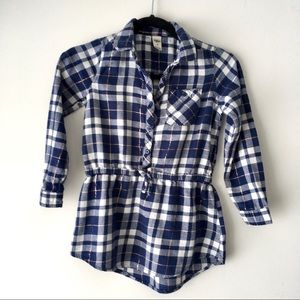 Girls Flannel Tunic by Oshkosh
